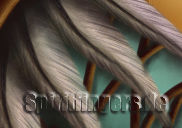 sylvanas Close up Digital Painting