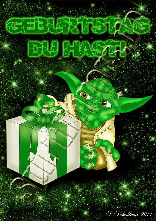 Yoda Star wars Digital Painting